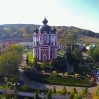Монастырь Курки, съемка при помощи дрона
